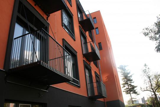 Prostorné balkóny