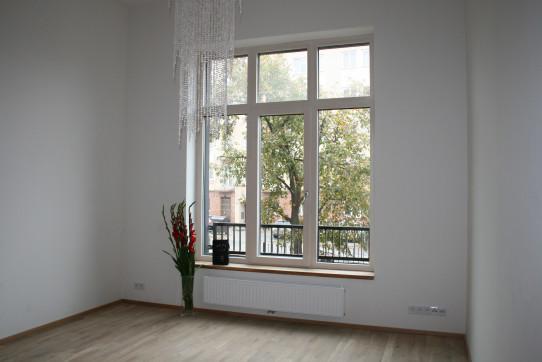 Velká okna a výhled do zeleně