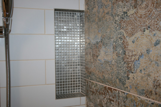 Designové detaily ve sprše