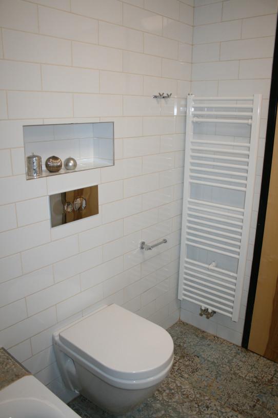 Koupelna má otopný žebřík