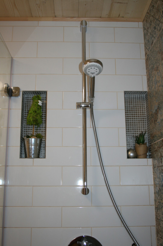 Sprcha s úspornou hlavicí