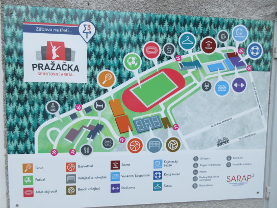 Sportovní areál Pražačka
