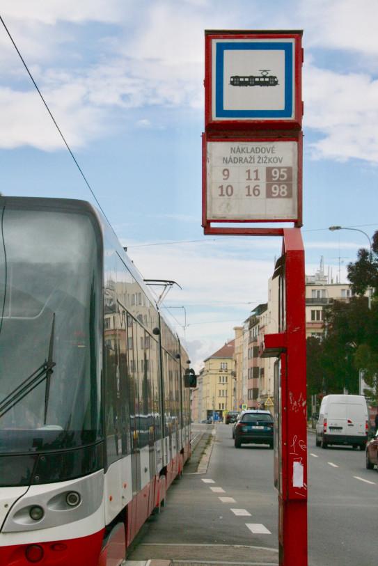 Zastávka Nákladové nádraží Žižkov
