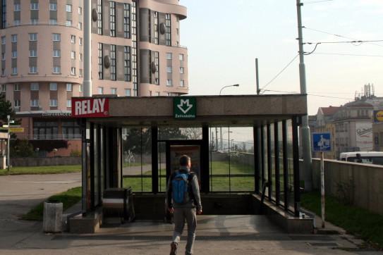 Metro Želivského