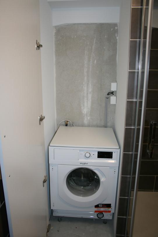 Každý byt vybaven pračkou