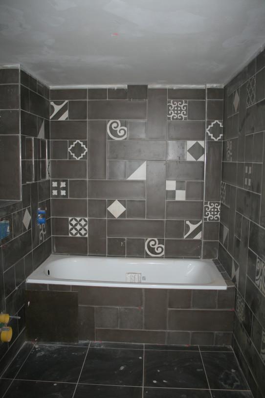 Koupelna s vanou pro relaxaci